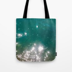 The color of the sea Tote Bag