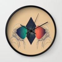 Space Between Wall Clock