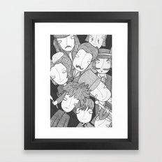 Johnny 9 Framed Art Print