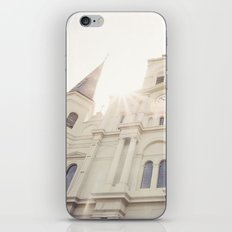 St Louis Cathedral iPhone & iPod Skin