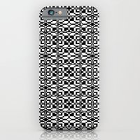 Black And White Tile 6/9… iPhone 6 Slim Case