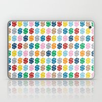 Colourful Money Repeat Laptop & iPad Skin