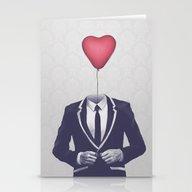 Mr. Valentine Stationery Cards