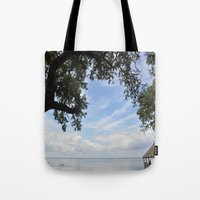 OuterBanks Vacation Blue… Tote Bag