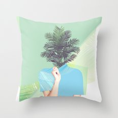 Ohh Summer Throw Pillow