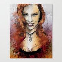 Oh My Jessica - True Blo… Canvas Print