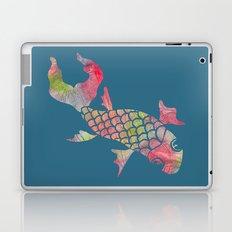 Rainbow Koi Fish Laptop & iPad Skin