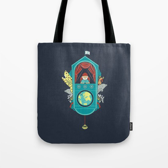 Aquatic Adventurer Tote Bag