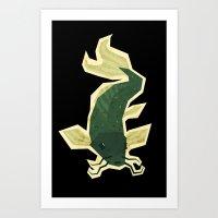 carp Art Print