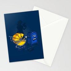 Sending it back Stationery Cards