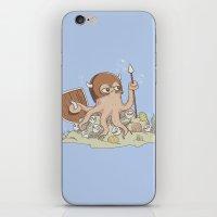 The Great Sea Warrior iPhone & iPod Skin