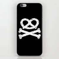 Pretz-Skull And Crossbon… iPhone & iPod Skin