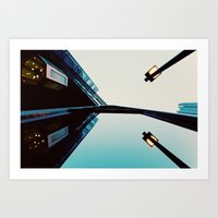 Endless Reflections.  Art Print