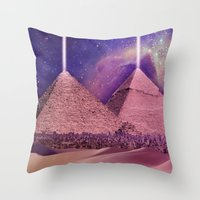 Hipsterland - Egypt Throw Pillow