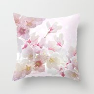 In Early Spring Throw Pillow