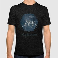 call of the mountains Mens Fitted Tee Tri-Black SMALL