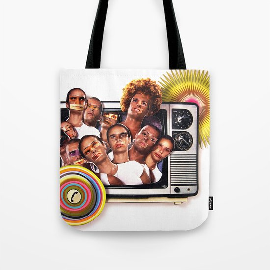Cannon fodder   Collage Tote Bag