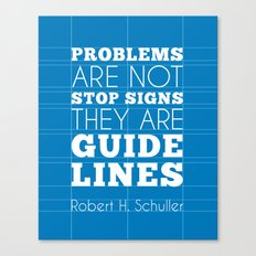 Guide Lines Canvas Print