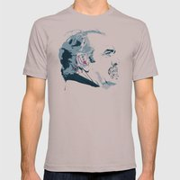 Man  Mens Fitted Tee Cinder SMALL