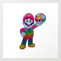 Mario Bros Art Print