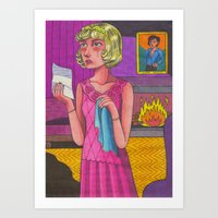 I Can't Give Her What She Wants Art Print