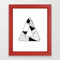 Personal Stormer Triangle Framed Art Print