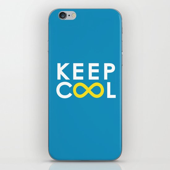 Forever coolness iPhone & iPod Skin