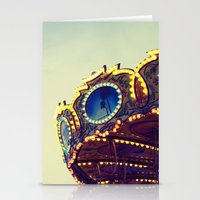 Blue Hour at the Carnival II Stationery Cards