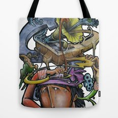 Crazy 4 Music - Mr.Klevra Tote Bag
