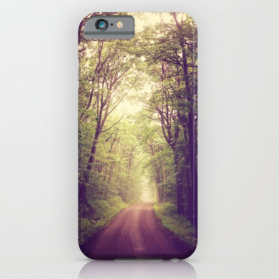 The Sound of Fog Coming Down iPhone & iPod Case