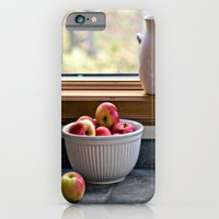 iPhone & iPod Case featuring Apples in a Bowl by Barbara Gordon Photography
