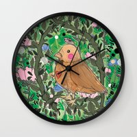 Nature Is Within Us Wall Clock