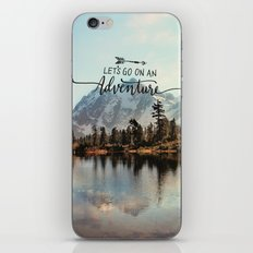 Lets Go On An Adventure iPhone & iPod Skin