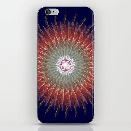 Flaming Desire iPhone & iPod Skin