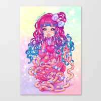 Cute Penanggalan Canvas Print