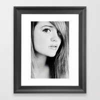 Without You Framed Art Print