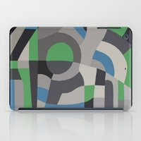 Hacienda Green iPad Case