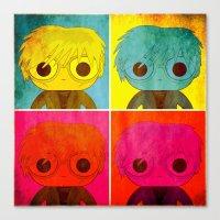 Andy Pop! Canvas Print
