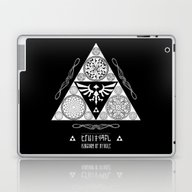 Legend Of Zelda Kingdom … Laptop & iPad Skin