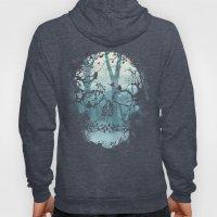 Dark Forest Skull Hoody
