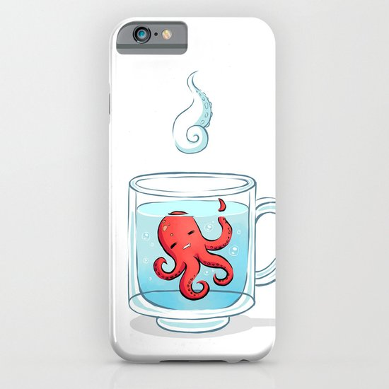 Octopus Tea iPhone & iPod Case