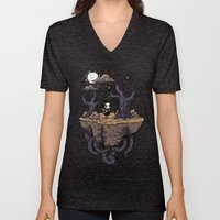 Dark Wood Unisex V-Neck