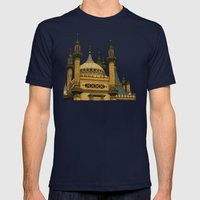 Opulence Mens Fitted Tee Navy SMALL
