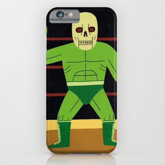 The Glowing Skull iPhone & iPod Case
