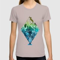 Metamorphosis Womens Fitted Tee Cinder SMALL