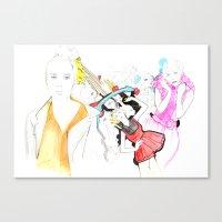 Whe love Fashion Canvas Print