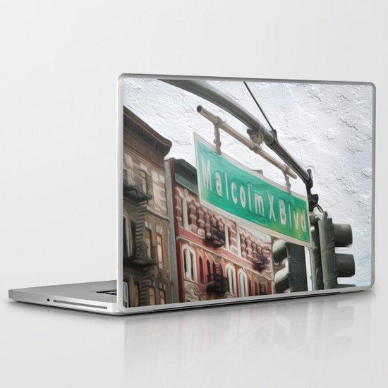 Malcom X Blvd Laptop & iPad Skin