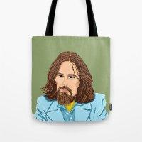 Pixel George Tote Bag