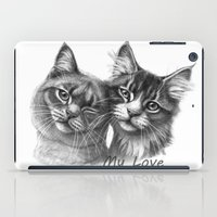 Cats in Love G134 iPad Case