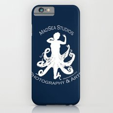 MadSea Nymph, white on blue iPhone 6 Slim Case